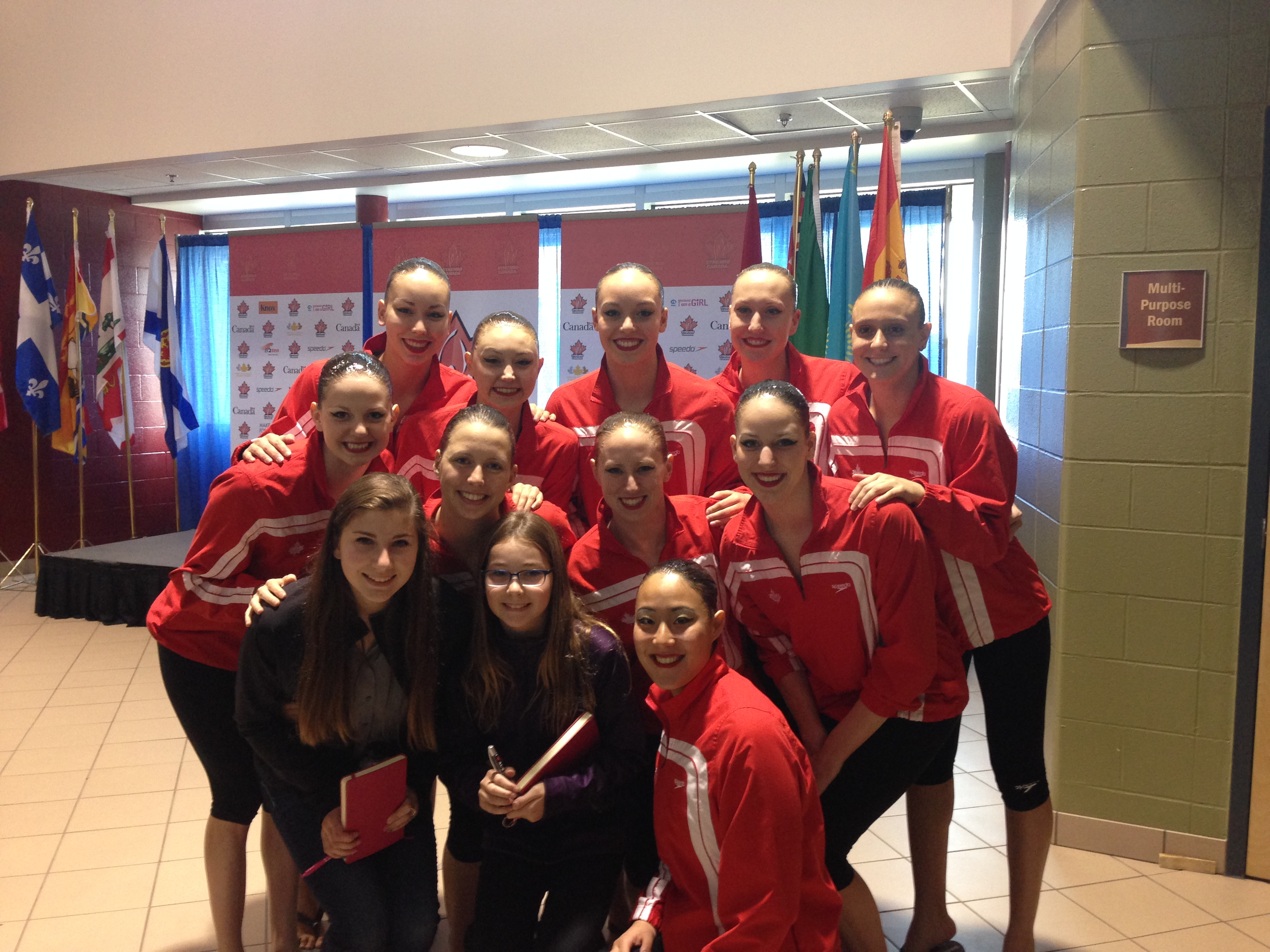 Team Canada Free Team Swimmers