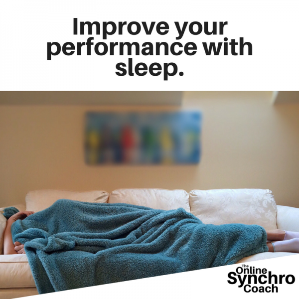 Improve your performance with sleep.
